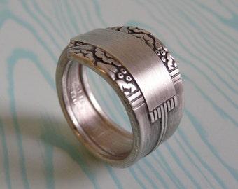 Spoon Ring, Antique Silver Pattern: Park Lane 1936