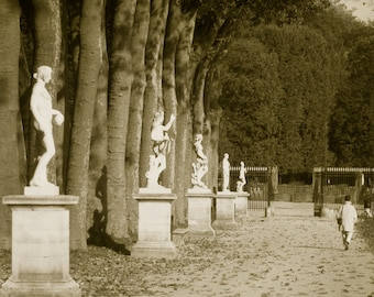 Versailles Park in France  Archival Print