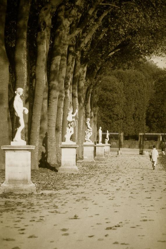 Versailles Park in France  Archival Print