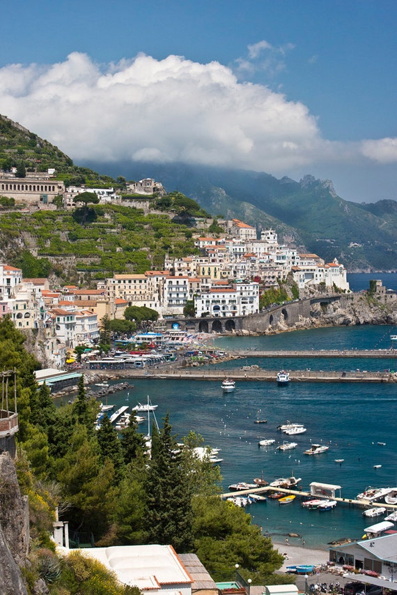Amalfi Coast  Archival Print