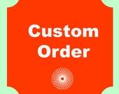 Custom Listing For Jessica