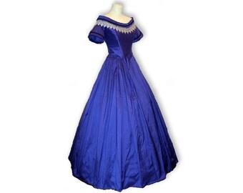 victorian Dress, cinderella dress, Civil war ball dress, civil war evening dress, dickens dress, victorian wedding dress, romantic wedding