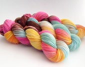 Dyed to Order - Lickety Split - Superwash Merino Worsted, DK or Fingering Sock Yarn  - Vivid Yarn Studio