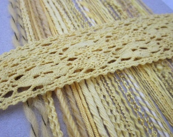 Yellow Textured Thread Pack