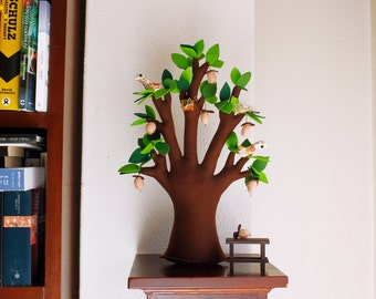 Baobab Felt Tree  Soft sculpture Home decor Kids Room Decor Sweet Dreams