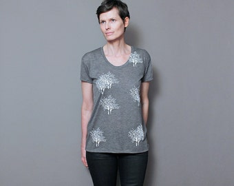 Womens T shirt | Graphic Tee, The Enchanted Forest - Tshirt for Women, Tree of Life