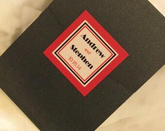 Movie Theme Bar Mitzvah Invitation Pocketfold (Sample)
