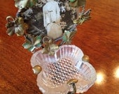 Antique Victorian handmade ring holder
