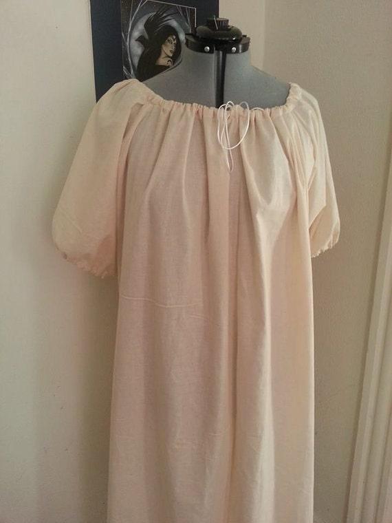 Custom color short Sleeved 32 Inch long Chemise SCA LARP Renaissance Medieval