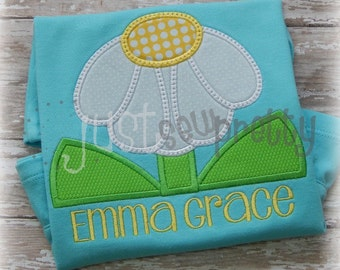 Lazy Daisy Cute Embroidery Applique Design