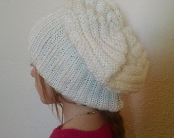 Hat Knitted slouch