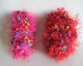 Two Skeins Of Pom Pom Fun Fur
