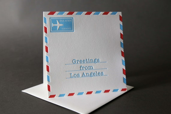 Airmail Los Angeles