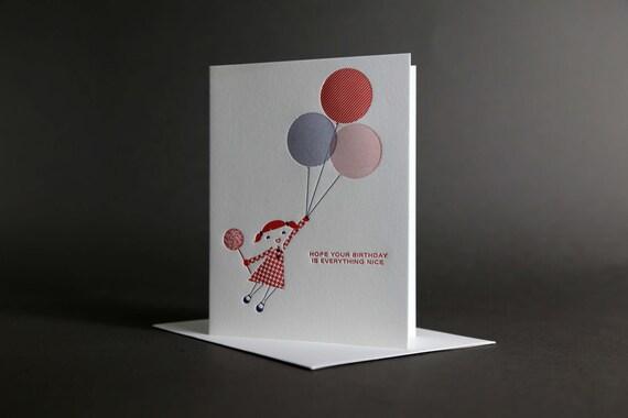 Girl Birthday Balloon