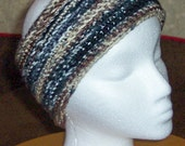 Crochet headband - neutral colors