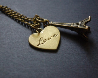 Love Paris necklace