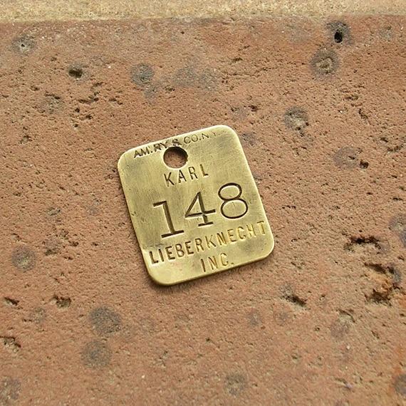 Vintage Brass Tags 65