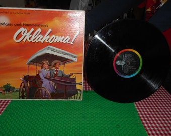 1955 Oklahoma Rodgers and Hammersteins Record 33 1/3