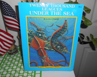 1990 SC Book Twenty Thousand Leagues Under The Sea By Jules Verne