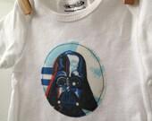 Vintage Darth Vader Bodysuit - Star Wars Baby Gift