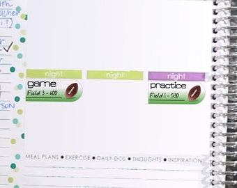 Football Sticker Printable - Instant Download - Planner Stickers