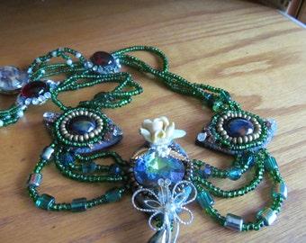 garden salad necklace