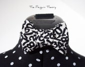 Mens Numbered Bow Tie