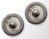 Sweater and Scarf Magnet Pin Antique Silver