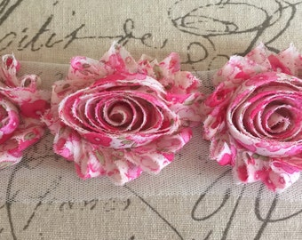 NEW-Shabby Rose Trim -Pink GARDEN PARTY inches-1/2 yard