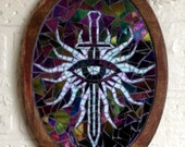 Dragon Age Inquisition Mosaic Symbol Heraldry Plaque Made-To-Order