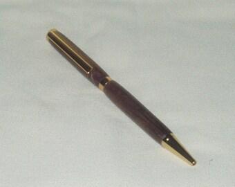 Pen, Slimline, Peruvian Walnut Wood