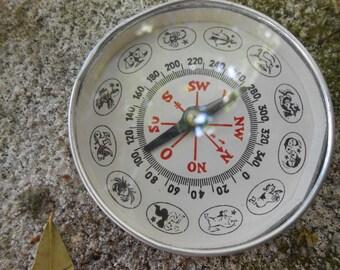Zodiac Compass ............Vintage Unique