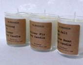 Scented Soy Candle   -  Two Ounce  -  All Natural Soy Fragrant Oil Scented Candles  - New Scents   Beach Daisies  -  Raspberry Vanilla