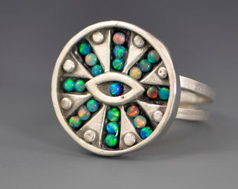 Mind's Eye Mosaic Ring