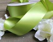 Bridal Sash - Wedding Accessories - Bridal Belt - Double Faced Satin Ribbon - Green Satin Ribbon - Bridesmaids Accessories