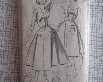 "1950s Dress & Jacket - 40"" Bust - Bestway 3390 - Vintage Sewing Pattern"