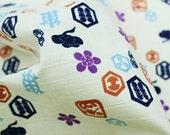 Japanese kimono style Print fabric half meter (n241)