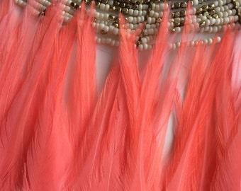 BELLA COQUE SADDLE  / True Flamingo Pink /  B - 20 / On Sale