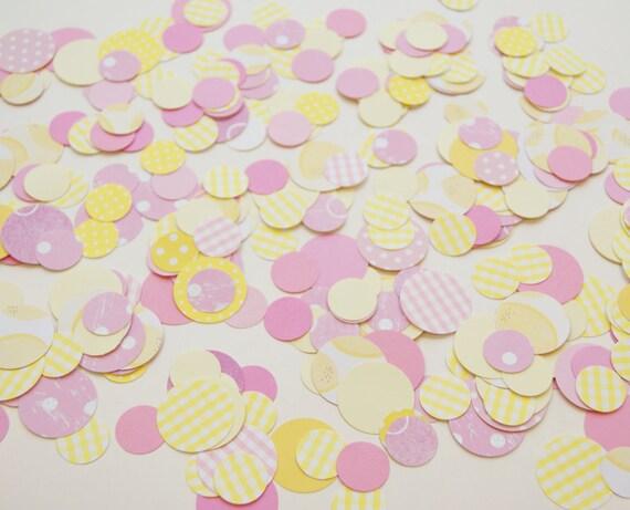 NEW Pink Lemonade Party Confetti Mix - pink lemonade & gingham ...