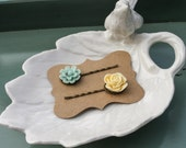Flower Hair Pins - Set of 2
