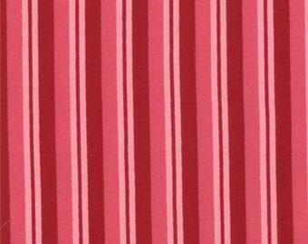 Clearance FABRIC Valentine's Day LOVE Stripes Print 1/2 yard Moda