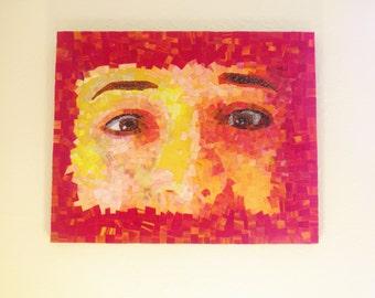 Eyes #3 - Micromosaic