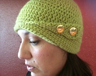 Cloche, flapper hat, beanie