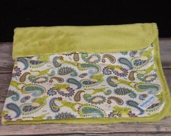 Froggie minky Blanket