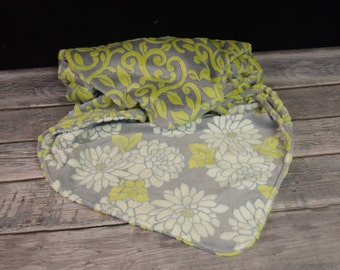 Mar Bella Olive Couture Double Minky blanket