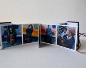 Mini Book Tiny Ar OIl Portraits NYC Subway Riders  Handmade