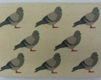 Oyster card holder, bus pass holder, travel card holder, wallet. Pigeon print wallet . Card wallet, Oyster card wallet, credit card holder
