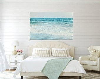Fine Art for Your Home Teal Blue Home Decor Blue Bathroom or