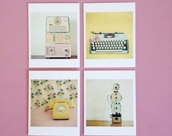 Box of Twenty Notecards and Envelopes - Retro Photographic Cards