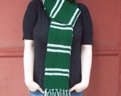 FINAL CLEARANCE Slytherin House Scarf - Second Edition